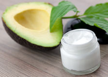 Avocado cream Royalty Free Stock Photography