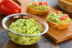 Avocado Cream Stock Images