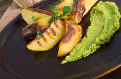 Avocado-cream Stock Images