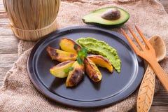 Avocado-cream Royalty Free Stock Images