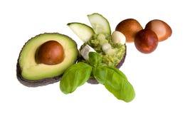 Avocado-crema in una avocado-frutta Fotografie Stock Libere da Diritti