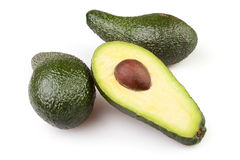 Avocado cut Stock Image