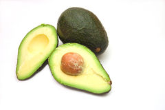Avocado cut Royalty Free Stock Photos