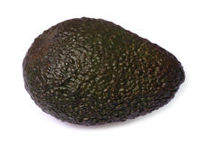 Avocado cutout Stock Image