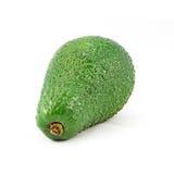 Avocado die op een witte achtergrond wordt ge?soleerd Smakelijk en gezond fruit Stock Foto
