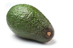 Avocado die op wit wordt geïsoleerde Royalty-vrije Stock Afbeelding