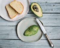 Avocado dla śniadania Obraz Stock