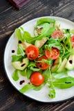 Avocado ed insalata dei pomodori Immagine Stock Libera da Diritti