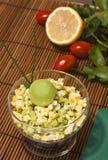 Avocado & egg starter Royalty Free Stock Photos