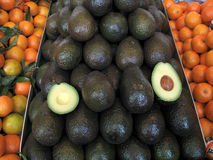 Avocado at farmers market Stock Photography