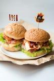 Avocado-Frühstücks-Sandwiche Lizenzfreie Stockbilder