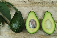 Avocado fresco verde Fotografie Stock Libere da Diritti