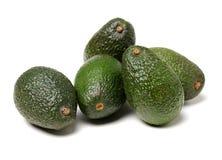 Avocado fruit ,. Isolated on a white background Stock Photo