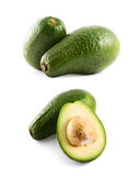 Avocado fruit composition isolated Royalty Free Stock Photography