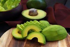 Avocado fruit. Avocado fruit  for health and diet Stock Photos