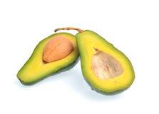 Avocado fruit isolated on white background Stock Photo