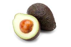 Avocado fruit. Isolated on white background Stock Image