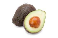 Avocado fruit. Isolated on white background Royalty Free Stock Photo