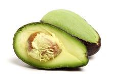 Avocado fruit ,. Isolated on a white background Stock Photography