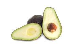 Avocado fruit isolated on white background Royalty Free Stock Photography
