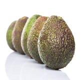 Avocado Fruit IV. Ripe avocado fruit over white background Royalty Free Stock Photo