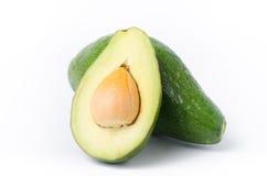 Avocado fruit. On white background,Healthy food Royalty Free Stock Photos