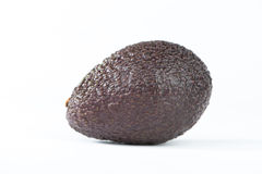 Avocado fruit on white Royalty Free Stock Photo