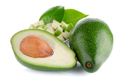 Avocado fruits Stock Photos