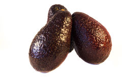 Avocado getrennt Stockfotografie