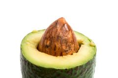 Avocado getrennt Lizenzfreie Stockfotografie