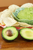 Avocado and Guacamole Stock Photo