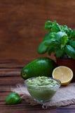 Avocado Guacamole sauce Royalty Free Stock Photography