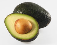 Avocado halb Stockfoto