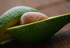 Avocado half Royalty Free Stock Photo