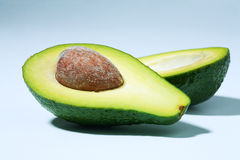 Avocado half Stock Photography