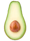 Avocado half Stock Images