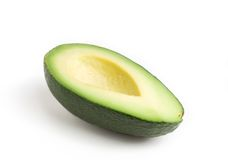 Avocado half Royalty Free Stock Image