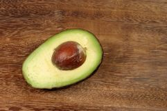 Avocado half Stock Photography