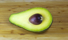 Avocado half Royalty Free Stock Photos