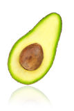 Avocado half with kernel Stock Image