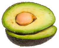 Avocado Halves Stock Photo