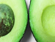 Avocado_Halves Royalty Free Stock Photo