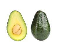 Avocado halves. Stock Image