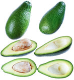 Avocado, isolate on a white background. Stock Photography