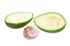 Avocado isolated Stock Photography