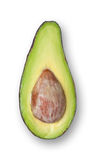 Avocado isolated. Stock Image