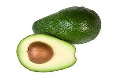Avocado Isolated. On White Background stock images