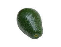 Avocado, isolated stock images