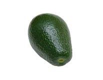 Avocado, isolated. Whole avocado, isolated on white background Stock Images