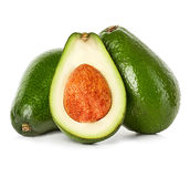 Avocado isolated Royalty Free Stock Photography